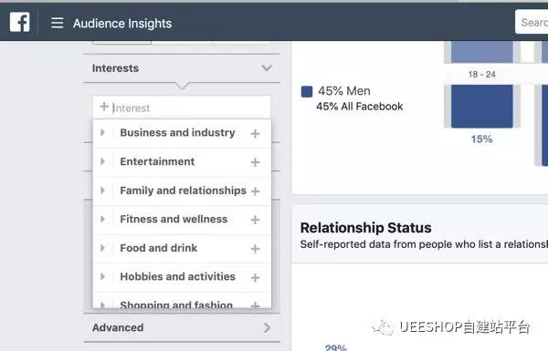 使用Facebook Audience Insights